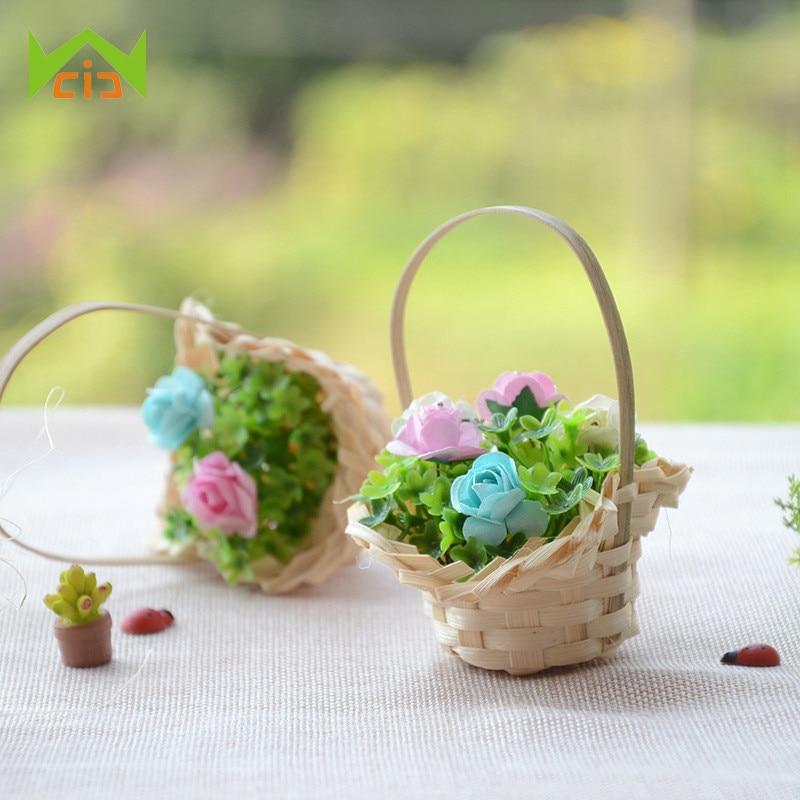 Dollhouse Miniature Artisan Fancy Oval Planter Pot of Lavender Flowers