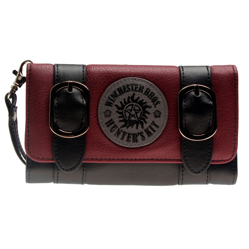 supernatural women long purse join the hunt Black wallet DFT-6505