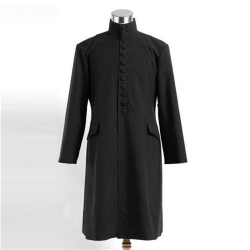 Halloween Cosplay Costume Snape COS Performance Party Game Clothing Blouse Stage Clothing Anime Wear For Men And Women