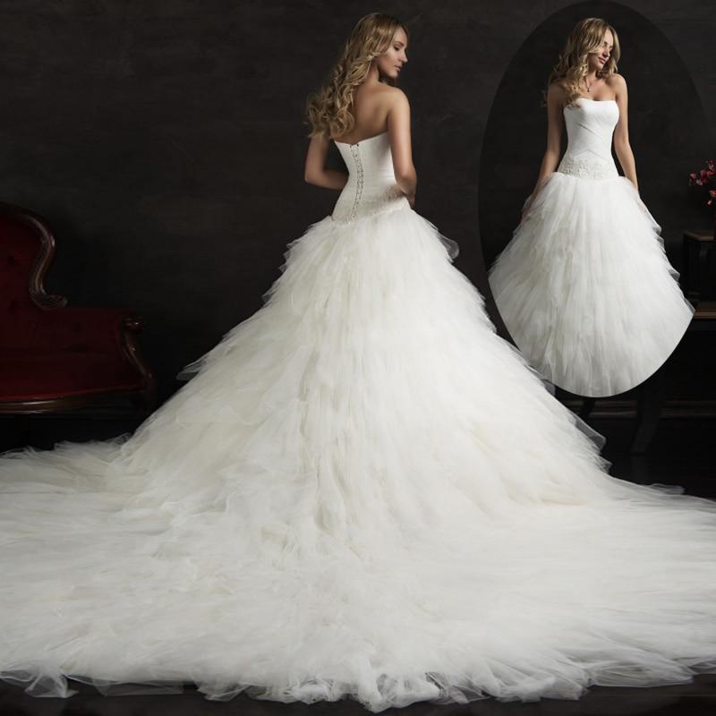 Robe De Marrige Charming Vestidos Ball Gown Long Strapless