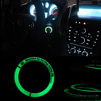 VCiiC светящаяся наклейка на зажигание переключатель Крышка/кольцо для Chevrolet Cruze Malibu для Buick Excelle GT XT для OPEL ASTRA J Insignia MOKKA