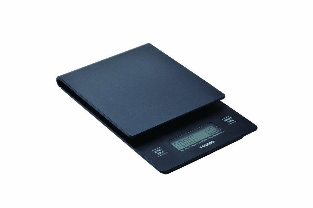 FeiC 1 pièce Hario V60 VST 2000B balance de cuisine numérique pesée intelligente 2000g/0.1g pour café mesure alimentaire cuisson cuisson pour barista - 3