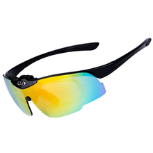 Cycling Glasses UV400 Oculos Cicismo Cycling Eyewear Mountain MTB Bicycle Glasses Sunglasses 6 Color Outdoor Sports