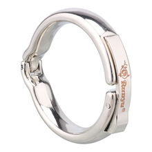 Good Healthy Men Delay Stainless Steel Magnet Lock Ring Extender Enlarger Massage Rings Sex Toy scrotum pendant top stainless steel penis ring chastity devices restraint pendant scrotum ring cock ring sex toy for men b2 85