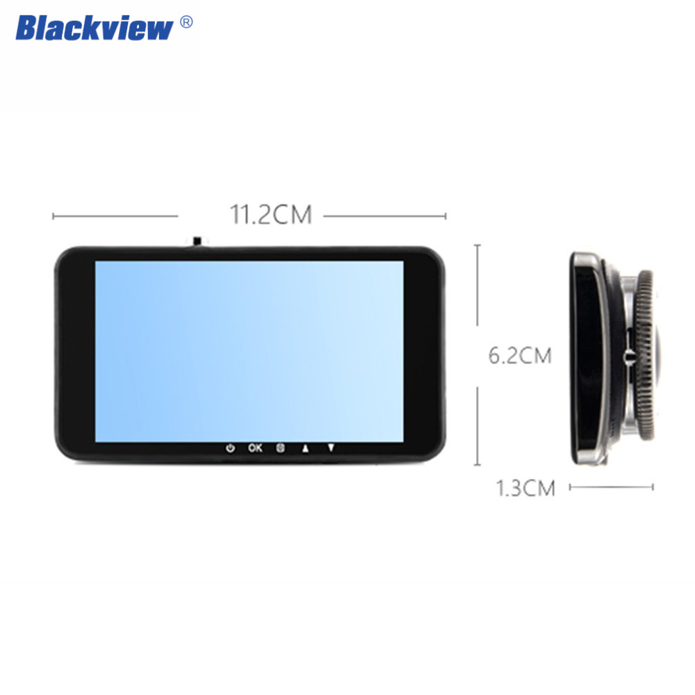 Blackview Y900 Car dvr Recorder 4.0 Inch IPS Screen 24h Parking Monitor G-sensor 1080P Dual Lens Rear View/back view dash cam