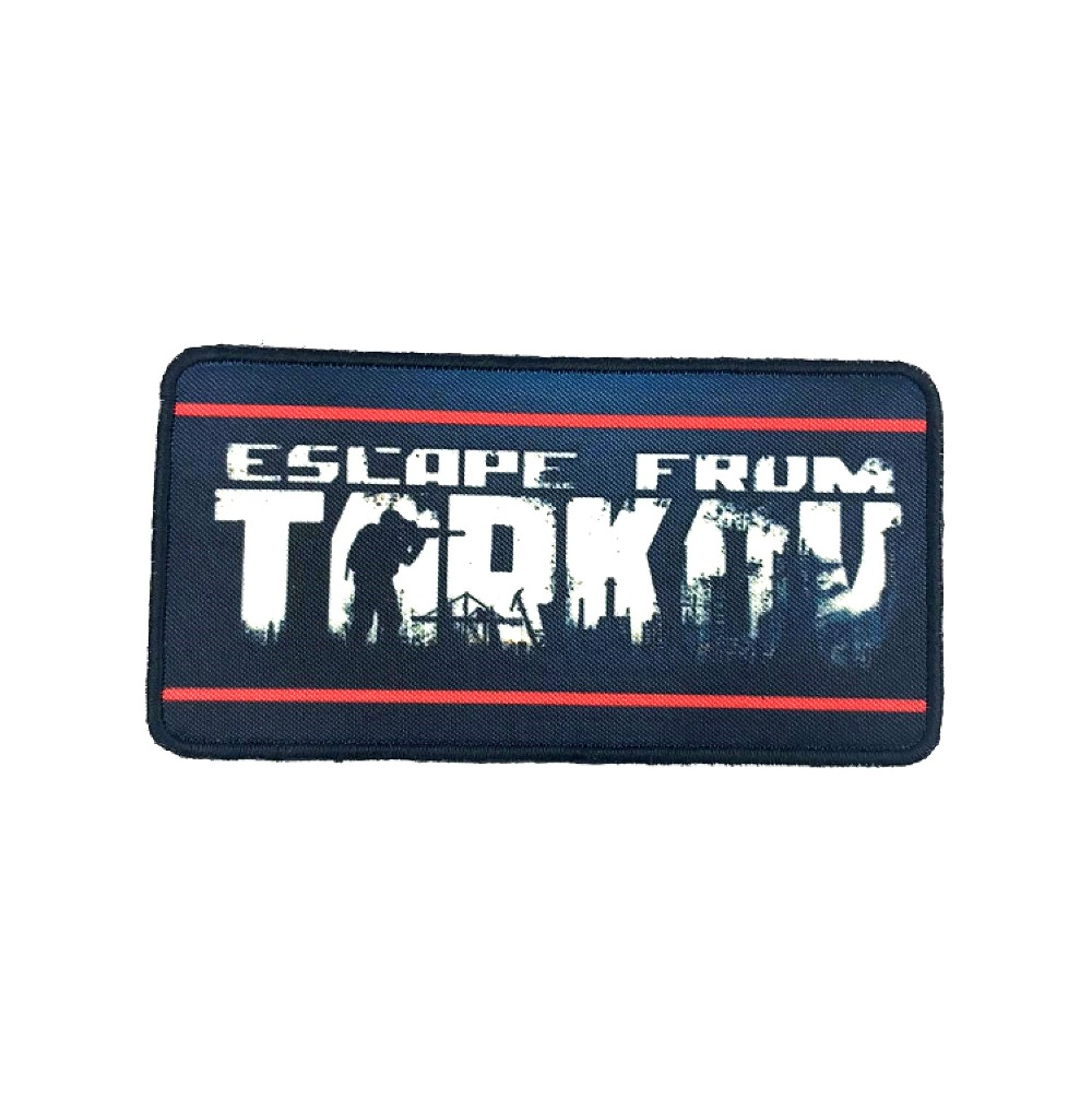 10pcs Escape from Tarkov Patch Printed Tactical Badge Game Cloth Armband 9 5 5cm Wholesale
