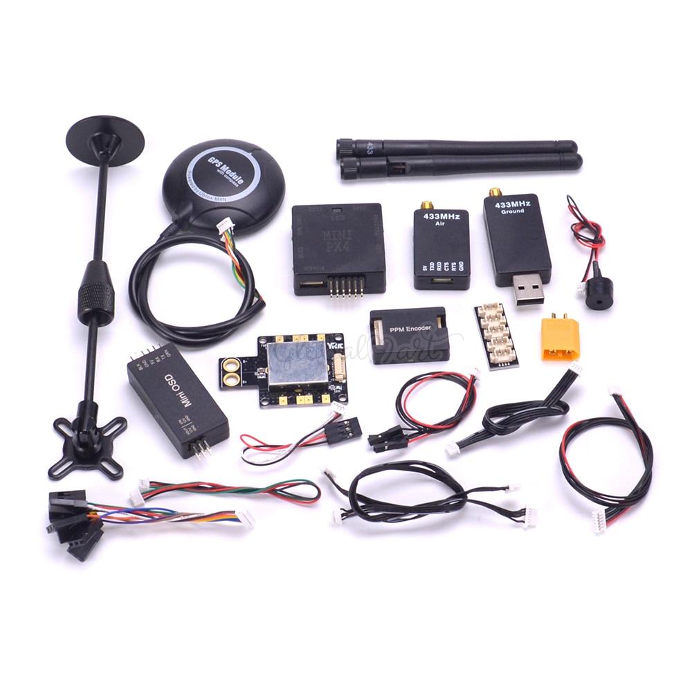 Mini Pixhawk PX4 PIX 2.4.8 Autopilot Pixhawk2.4.8 32 Bit Flight Controller M8N GPS 433 Mhz 915 Mhz Telemetrie Power modul i2C PPM-in Teile & Zubehör aus Spielzeug und Hobbys bei  Gruppe 2