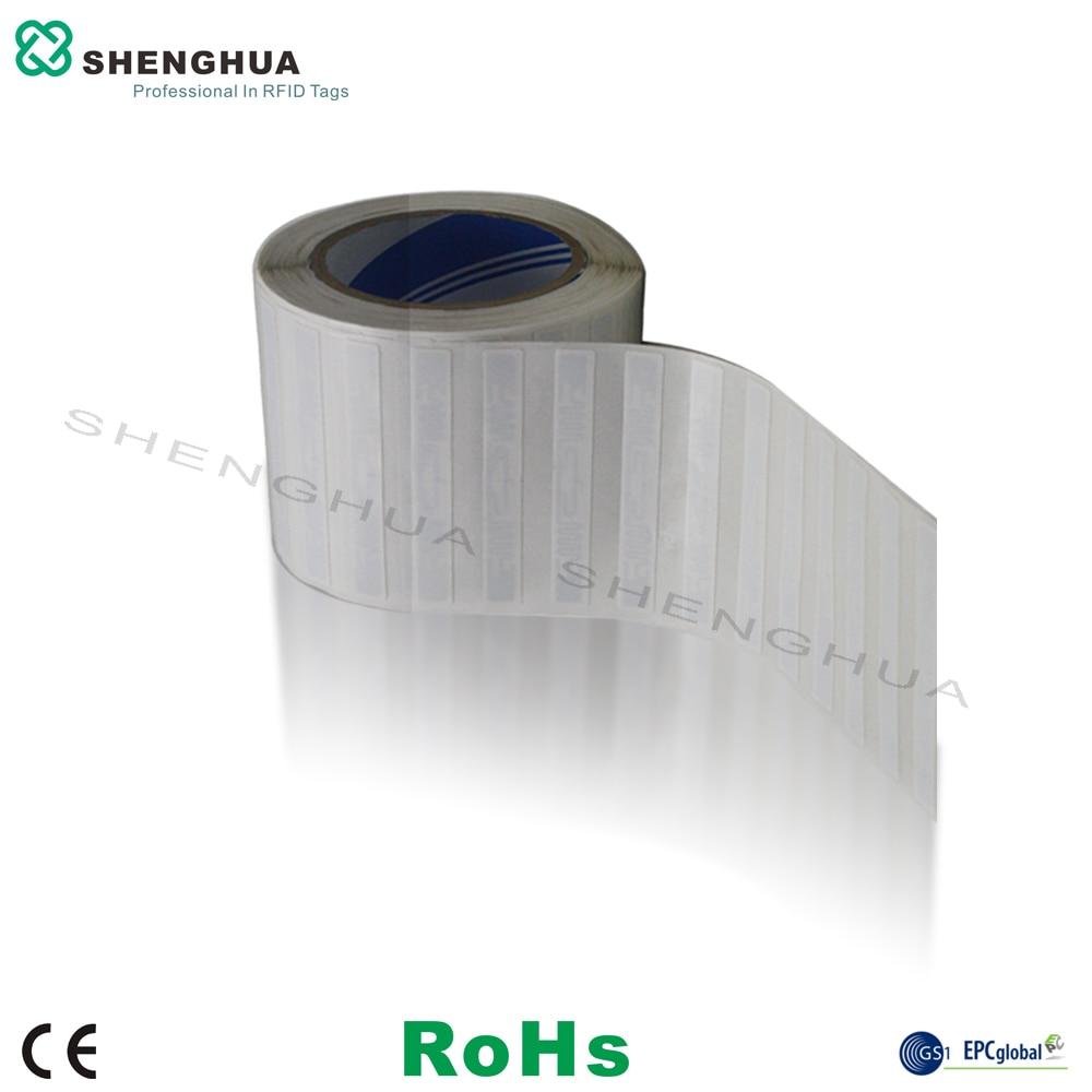 10pcs/pack Adhesive RFID UHF Label EPC C1 GEN2 Alien H3 For Asset Warehouse Management RFID Sticker Long Range Reading Retail