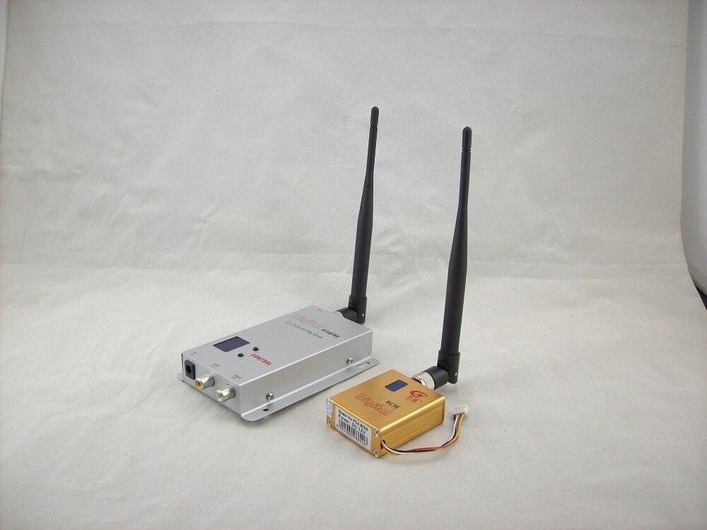 5 km Bereich Partom FPV 1,2G 1,2 Ghz 800 mw FPV Wireless AV Sender Empfänger Für CCTV RC Multirotor hubschrauber DJI Phantom
