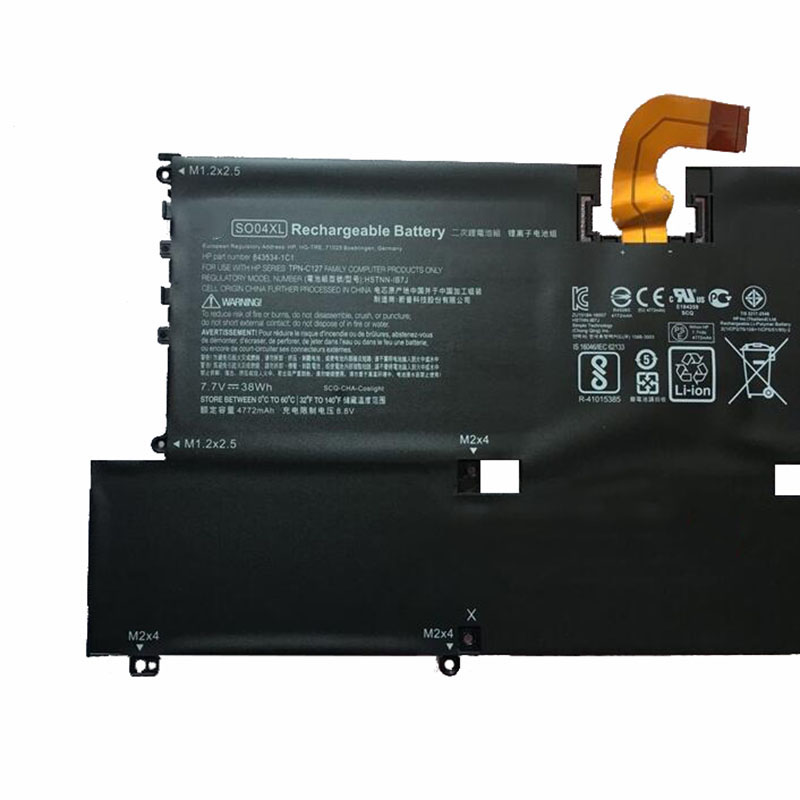 Image 5 - GZSM Laptop Battery SO04XL For HP Spectre 13 13 V016tu 13 v015tu 13 V014tu battery for laptop 13 v000 844199 855 battery-in Laptop Batteries from Computer & Office