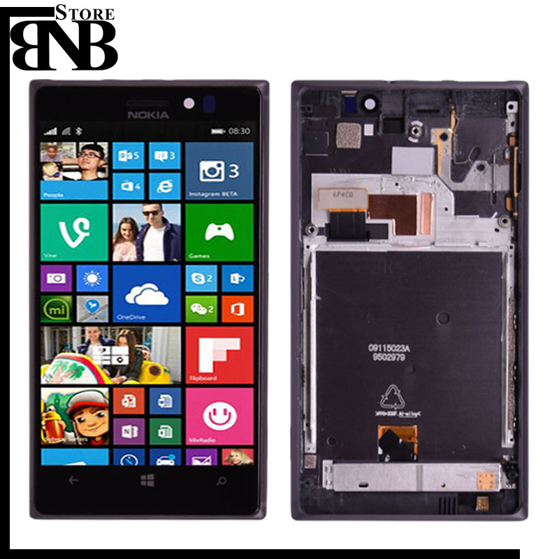 100% Original For Nokia Lumia 925 LCD Display Touch Screen Digitizer Assembly with Frame or lumia 925 lcd without frame100% Original For Nokia Lumia 925 LCD Display Touch Screen Digitizer Assembly with Frame or lumia 925 lcd without frame