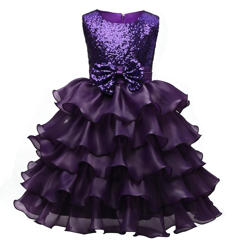 Подробнее о Formal Princess Girl Wedding New Party Dress Sequined Flower Kids Clothing Girls Tutu Dress Children Clothes Ball Gown Dresses new girls dress children clothing petals hem toddler girl dresses wedding formal party princess dress kids clothes for 3 8 yrs