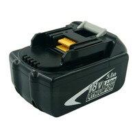 18V 5000mAh Replacement Li Ion Tools Batteries For Makita 5 0A BL1850 LXT400 BL1840 194230 4
