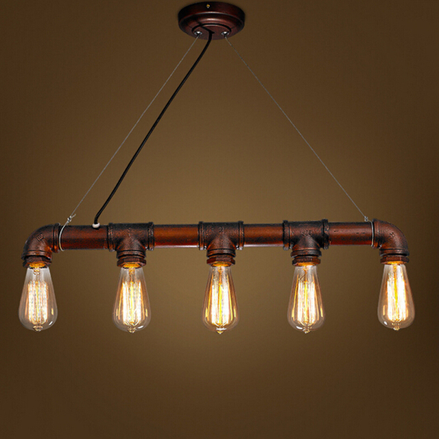 Vintage Pendant Lights Hanging Lamp Luminaria Industrial Rustico ...