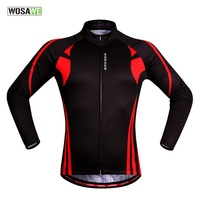 WOSAWE Quick Dry Breathable Cycling Women Jersey Long Sleeve Summer Spring Men's Shirt Bicycle Wear Racing Top Cycling Clothings
