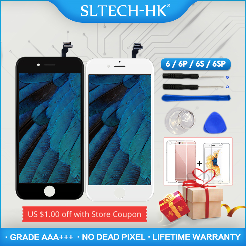Grade AAA+++ For iPhone 6S Plus LCD With 3D Force Touch Screen Digitizer Assembly 5.5 Inch Display No Dead Pixel Free Shipping gadget