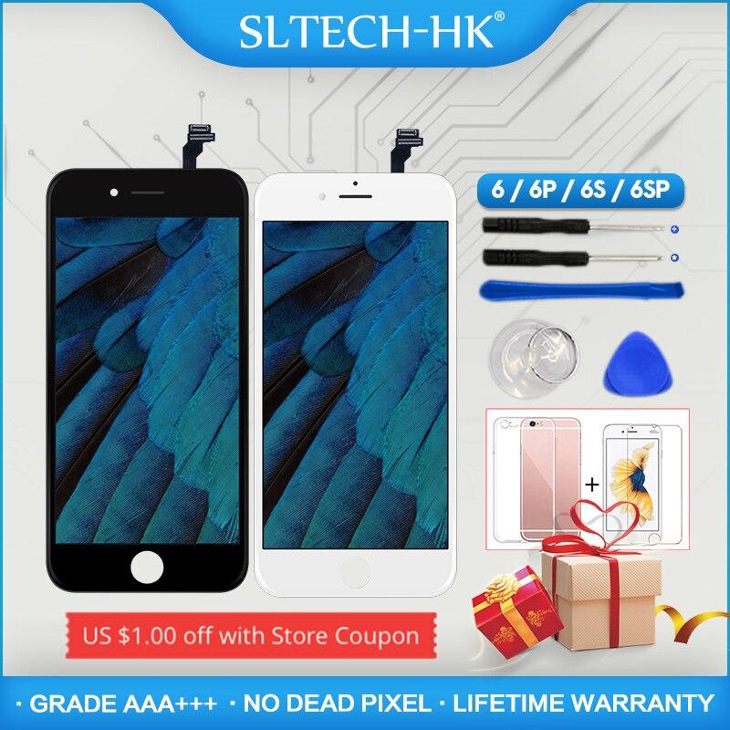 Grade AAA +++ Für iPhone 6 6S Plus LCD Mit 3D Kraft Touchscreen Digitizer Montage Für iPhone 5S Display Keine Tote Pixel