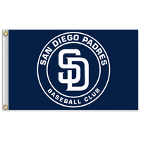 3x5ft San Diego Padres 7 Major League Baseball MLB Pennant High Quality Polyester Sports Free Shipping