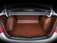 fiber leather car trunk mat Customise for kia k5 kia optima 2016 2017 2018 2019 3D car styling car accessories
