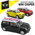 1/32 Diecast MINI COOPER Model, Kids Present For Children, Metal Cars Toys With Pull Back Function/Music/Light/Openable Door