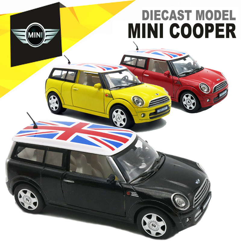 132 diecast mini cooper model kids present for children metal cars toys