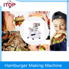 ITOP Commercial Hamburger Press Meat Patty Making Machine Durable With 500 Oil Papers Hand Operating
