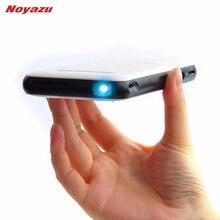 Noyazu 1080 P Salida HDMI 1500 Lúmenes 5000 mah Bluetooth Androide KODI Proyector DLP Wifi Proyector Portátil de cine en Casa