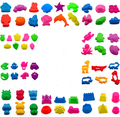 Play Dough Plasticine Mold Tools Set Kit Sand Begin Kids Baby Ability Playdough Polymer Clay Beach Toy Traning Toy