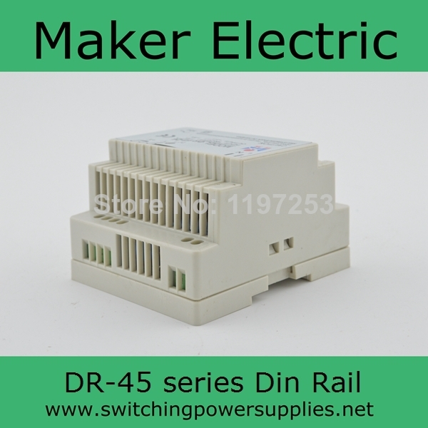 firm DR-45-24 45w power supply 24v 2A din 45