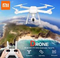 Original Xiaomi Mi Drone English App WIFI FPV 4K Camera RC Quadcopter Drone 3 Axis GimbalHelicopter HD Video Record Remote