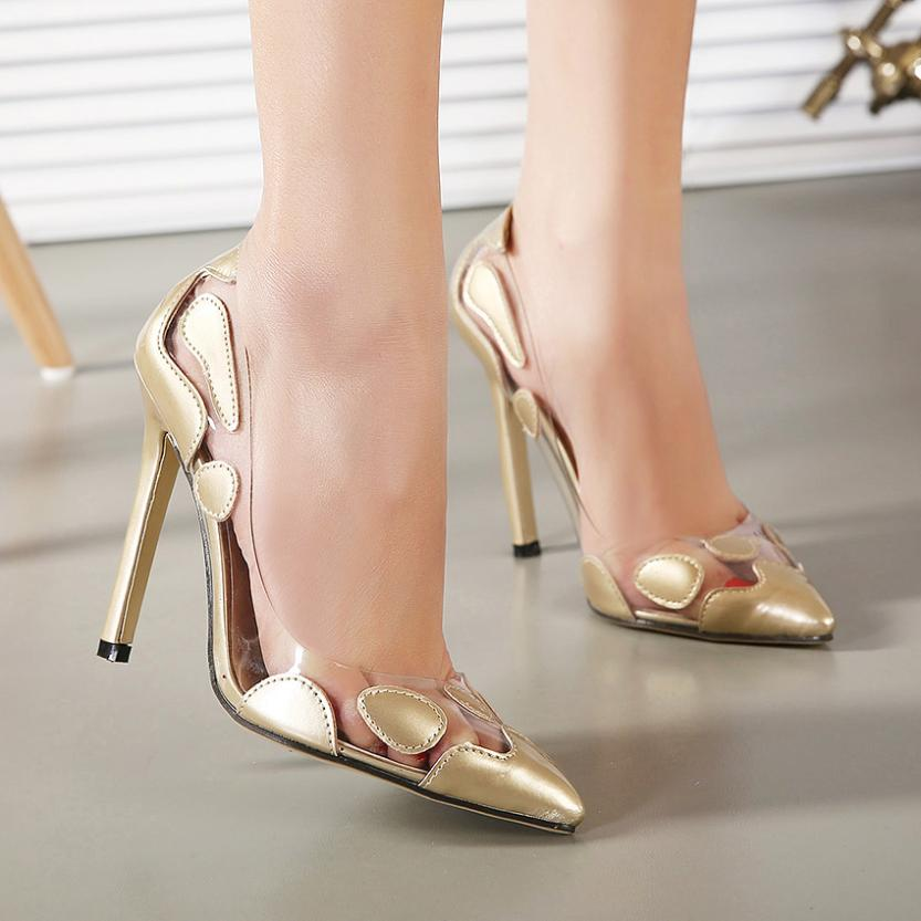 silver wedding high heels shoes|gift