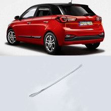 ABS Chrome Exterior car-styling accessories rear door moulding trims For HYUNDAI I20 high quality