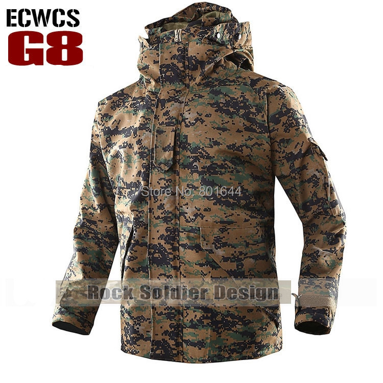 47e81b07d2c82 Military jacket ECWCS,Marpat digital camouflage hunting winter ...