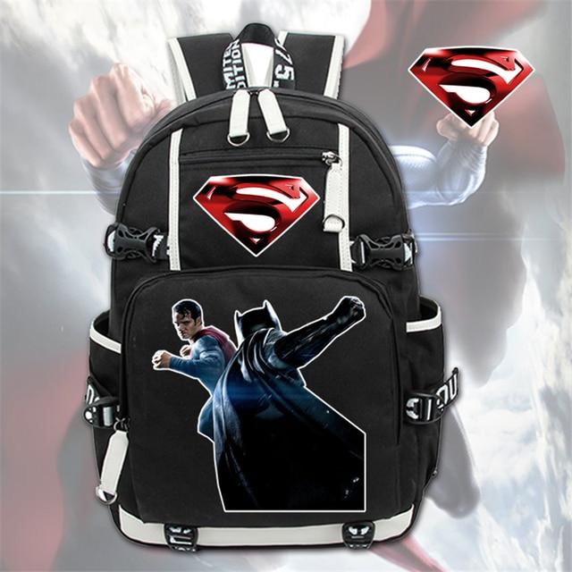 Рюкзак Супермен и Бэтмен