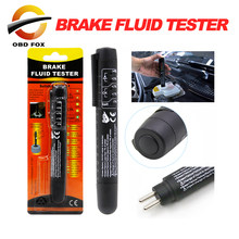 Brake Fluid Liquid Tester Pen With 5 LED Car Auto Diagnostic Tool Mini Brake Fluid Tester For DOT3/DOT4 code reader scanner(China)