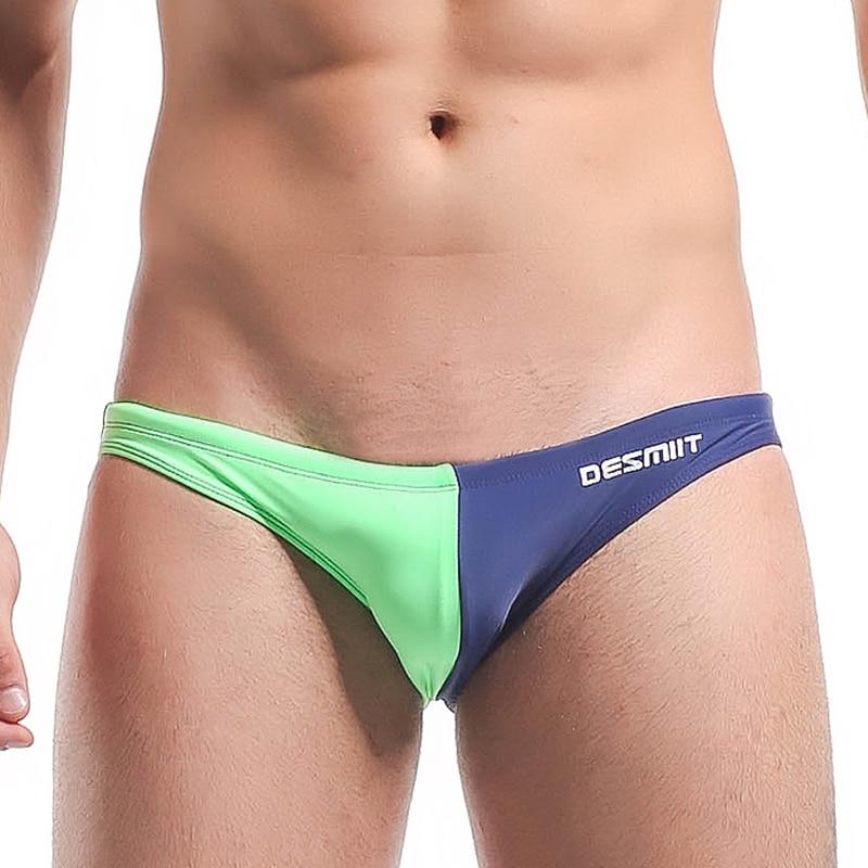 Zwembroek Voor Mannen.Desmiit Bikini Mannen Merk Sexy Zwemmen Slips Heren Zwembroek