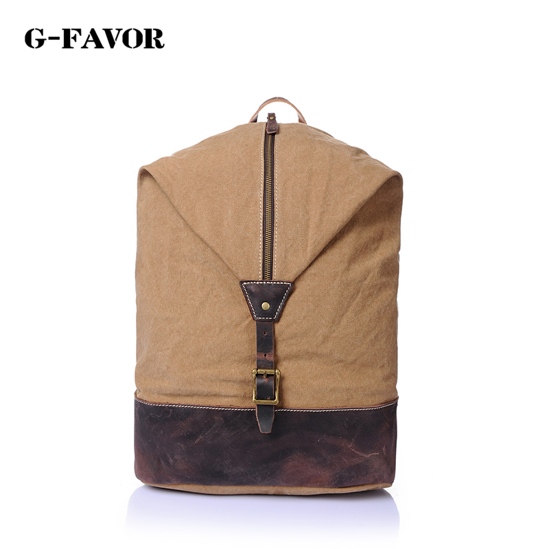 Top Quality Canvas Men Backpacks Youth College Student Bookbags School Bag for Teenagers Vintage Rucksack Travel Male Backpack стоимость