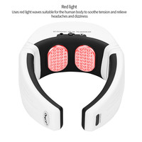 Remote Control Neck Massager Far Infrared Cervical Vertebra Therapy Instrument Low Frequency Pulse Vibration Neck Massager 35