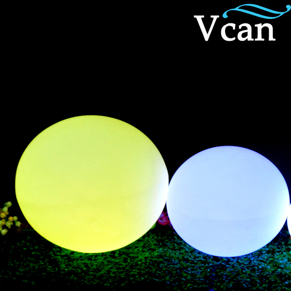 ФОТО 40cm Outdoor Garden LED Color Changing light inside Ball VC-B400