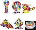 Caja de plástico + 46 Unids/set Bloques de Bloques de Construcción Magnética 3D Niños DIY Juguetes Educativos Modelo Kits de Construcción de ladrillos de Juguete Magnético