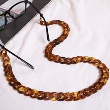 HOT Fashion Acrylic Reading Glasses Hanging Neck Chain Sunglasses & Largands 23 Colors sunglasses strap
