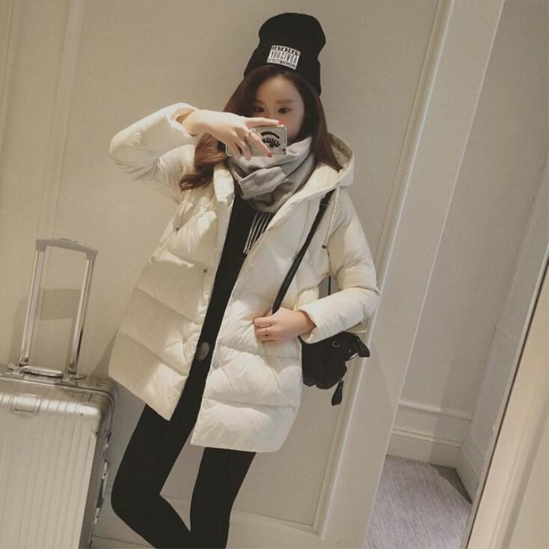 parka   women 2019 Winter Jacket Women Coats Hooded Coats Female   Parka   Thick Cotton Padded Lining Winter Female Coats