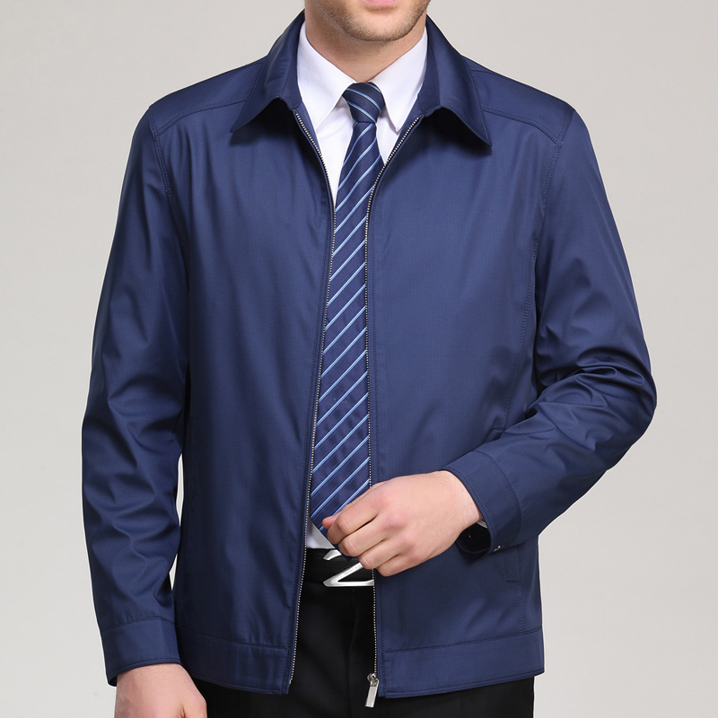 Men Autumn Jackets and Coats Jaqueta Masculina Male Causal Fashion Slim Fitted Large Size Zipper Jackets <font><b>Hombre</b></font> L-<font><b>6XL</b></font> image
