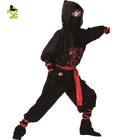 Kids Newest Ninja Costumes For Boys Children High Quality Halloween Clothes New Year Christmas Party Cosplay
