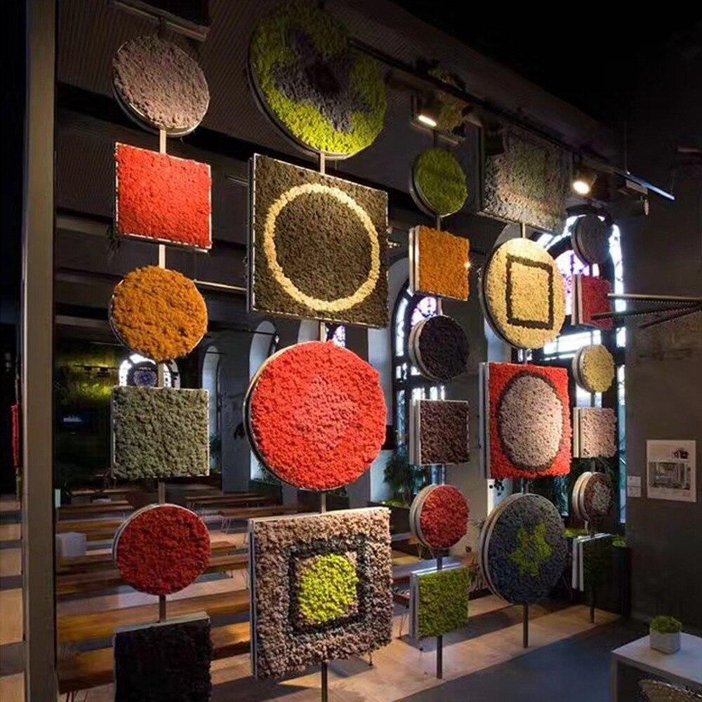 24 couleur artificielle séchée immortelle mousse pour fleurs herbe panier plante maison jardin guirlande mariage fête bricolage décoration 1000g