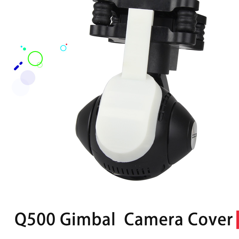 YUNEEC Q500 Gimbal Camera Protector 3D Printed Camera Cover Dust-proof Cover yuneec q500 typhoon quadcopter handheld cgo steadygrip gimbal black