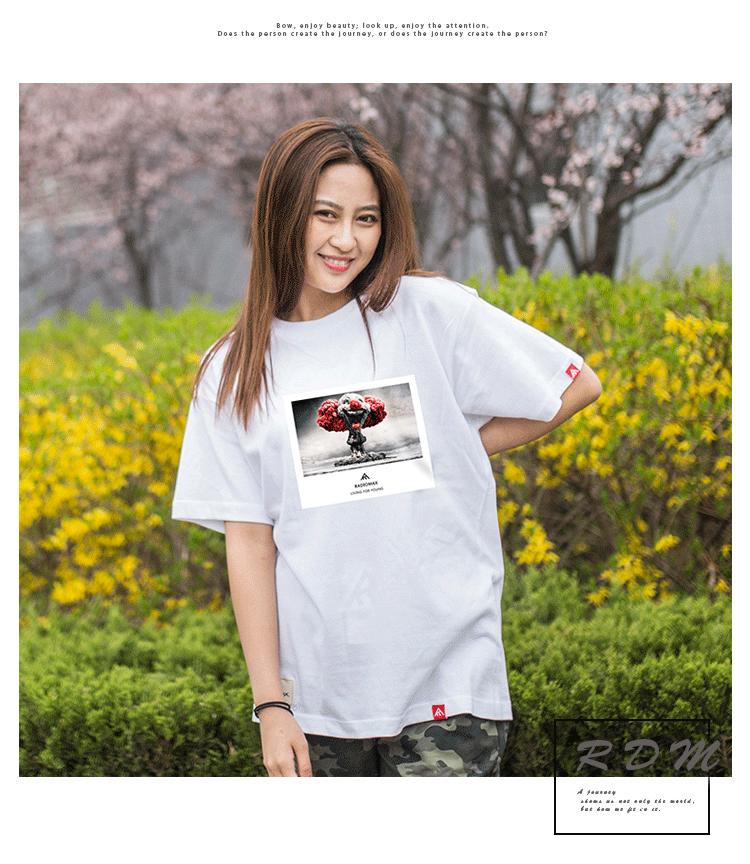 Marca Coringa Roupas de Algodão T Camisas Para A Camisa Das Mulheres ... 92f5d2e3ef3