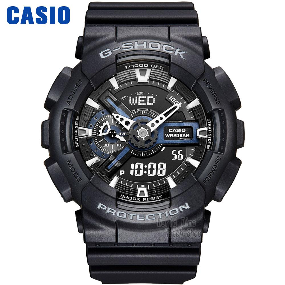 Casio watch Double shock anti-magnetic movement waterproof men's watch GA-110-1A GA-110-1B casio watch g shock mini gmn 691g 1jr