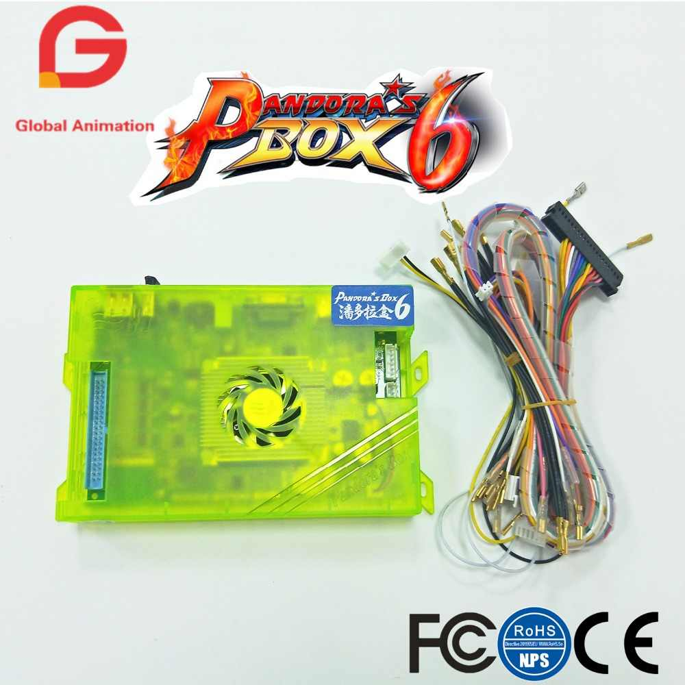 original new arrival pandora box 6 home edition 1300 in 1 sets family version for arcade [ 1000 x 1000 Pixel ]