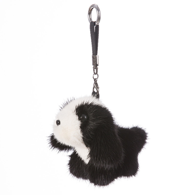 2018 Fur Bunny Rabbit Keychain Fashion pom pom keychain Fox fu fur keychain Toy Doll rabbit keychain Pendant Bag Car Charm rabbit pattern pom pom pullover